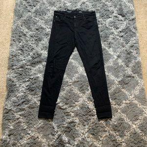 BRAND NEW AG all black denim